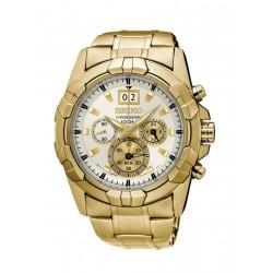 Seiko Watch 43mm Chronograph Quartz Gent's Metal Watch - PC190P