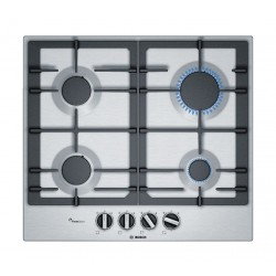 Bosch 60CM Built-in Gas Hob (PCP6A5B90M) - Stainless Steel