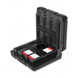 PDP Secure Travel Game Case For Nintendo Switch - Black