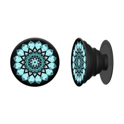 PopSocket Expanding Stand and Grip for Smartphones and Tablets – Peace Mandala Sky
