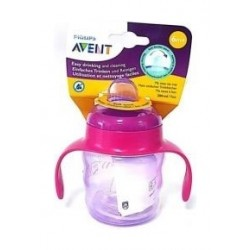 Philips Avent Classic 260ml Training Cup  - Girl