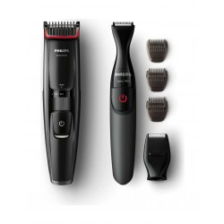 Philips Beard Trimmer series 5000 BT5202 + Philips MG1100/16 Multigroom series 1000 Shaver
