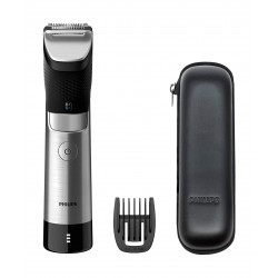 Philips BT9810 9000 Prestige Beard Trimmer - Black/Sliver