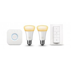 Philips Hue Ambiance 9.5 Watts LED Light Starter Kit - White