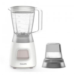 Philips 450W 1.25 L Daily Collection Blender (HR2056/01) - White