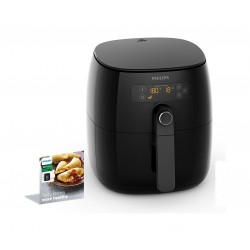 Philips Turbostar 1425 Watts Hot Air Fryer (HD9641 / 90) - Black
