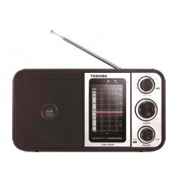 Toshiba TY-HRU30 AM/FM Portable Radio - Brown