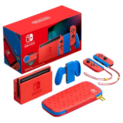Buy Nintendo Switch Console Mario Red & Blue Edition in Kuwait | Buy Online – Xcite