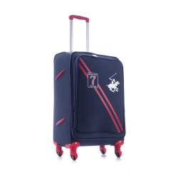 U.S Polo 66CM Medium Softcase Luggage - Seven Navy