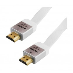 HDMI Cable Gold / White