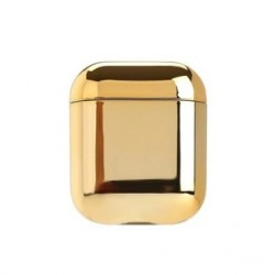 AirPods Case Cover with Keychain - Gold