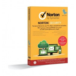 Symantec Norton Security for Five Devices, One User and One Year