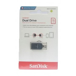 Sandisk Dual Drive USB 2.0 16GB Flash Drive