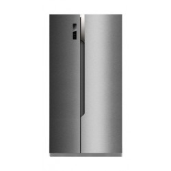 Hisense 24 Cft. Side By Side Refrigerator (RS670N4ASU) - Silver