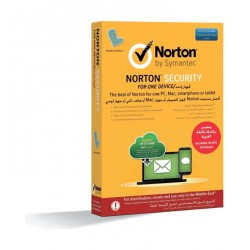 Symantec Norton Security for 1 Device, 1 User For 1 Year