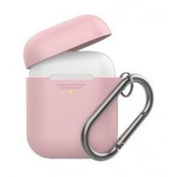 Promate Silicon Cover Case for Airpods - Pink