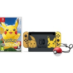 Nintendo Switch Let's Go Pikachu Limited Edition Console Bundle