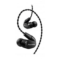 Pioneer Tangle Resistant Premium In-Ear Wired Earphones (SE-CH9T-K) - Black