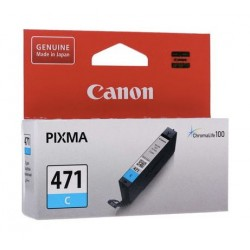Canon CLI-471C For Inkjet Printing 330 Page Yield (0401C001AA) - Cyan