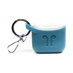 Podpocket Apple Airpod Keychain Carrying Case - Cosmos Teal