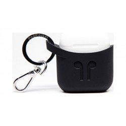 Podpocket Apple Airpod Keychain Carrying Case - Midnight Black