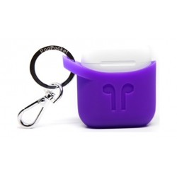 Podpocket Apple Airpod Keychain Carrying Case - Purple Rain