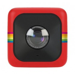 Polaroid Cube+ Wi-Fi Lifestyle Action Camera - Red