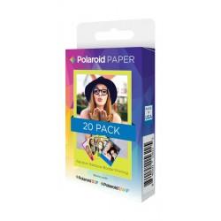 Polaroid 2x3 Zink 20 Pack Rainbow Frame