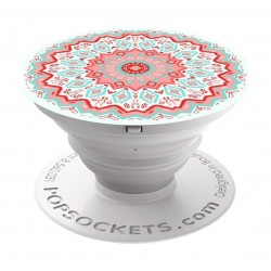 Popsockets Phone Stand and Grip (101253) - Aztec Mandala Red