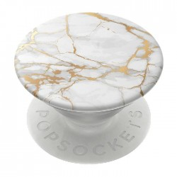 PopSockets Phone Stand and Grip (801632) – Abstract Gold Lutz Marble