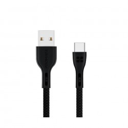 Promate PowerBeam-C 1.2 Meter USB-C Cable - Black