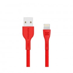 Promate PowerBeam-i 1.2 Meter Lightning Cable - Red