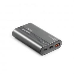 Promate 10000mAh Ultra-Fast Powerbank (PowerTank-10) - Grey
