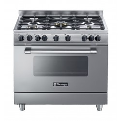 Tecnogas 90x60 cm 5-Burners Floor Standing Gas Cooker (PP3X96G5VC)