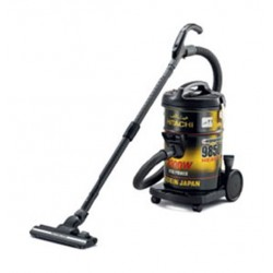 Hitachi 2300W 21L Drum Vacuum Cleaner with Remote (CV-9850YRJ) - Black