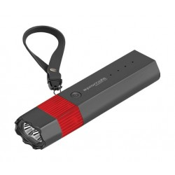Promate Buddy 52 5200mAh Power Bank with a Multi-Functional Outdoor Survival Kit - Black