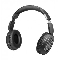Promate Concord Dynamic HD Stereo Headset with Passive Noise Cancellation - Grey
