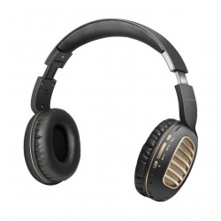 Promate Concord Dynamic HD Stereo Headset with Passive Noise Cancellation - Gold