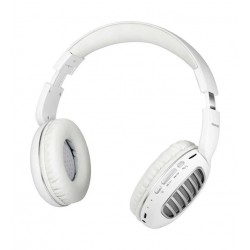 Promate Concord Dynamic HD Stereo Headset with Passive Noise Cancellation - Silver