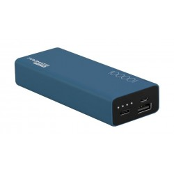 Promate Energi-10C 10000mAh High Capacity Dual USB Powerbank - Blue