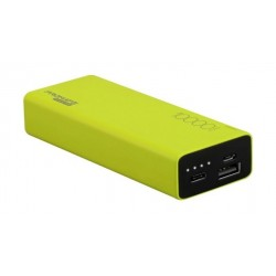 Promate Energi-10C 10000mAh High Capacity Dual USB Powerbank - Green