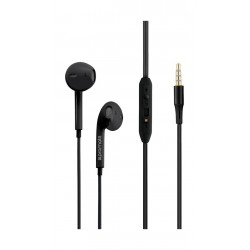Promate GearPod-IS2 Lightweight High-Performance Stereo Earbuds - Black