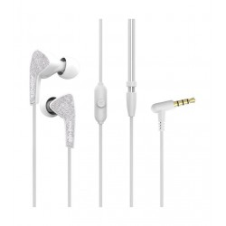 Promate Medley-1  Universal Sporty In-Ear Stereo Earphones - White