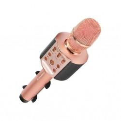 Promate Wireless Karaoke Microphone (VOCALMIC-4) - Rosegold