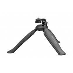 Promate Adjustable Head Lightweight Mini Tripod - Black