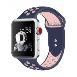 Promate Oreo 40mm Sporty Apple Watch Band - Blue/Pink