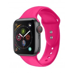 Promate Oryx Sporty Silicon Watch Strap for 42mm Apple Watch (M/L) - Pink