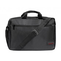Promate Premium Lightweight  15.6 inch Messenger Bag - Black