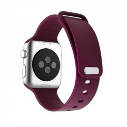 Promate Rarity 44mm Apple Watch Stylish Silicon Strap - Pink