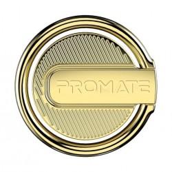 Promate RinGrip-1 Multi-Function Kickstand Ring Mount - Gold